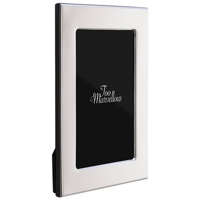 6 x 4 inch Sterling Silver Mayfair Style Photograph Frame