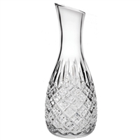 Traditional Cut Crystal Carafe, London Design. Gift Boxed By Royal Scot Crystal