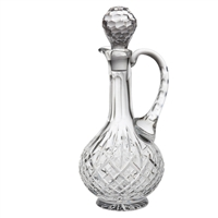 Traditional Cut Crystal Claret Decanter, London Design. Gift Boxed By Royal Scot Crystal