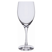 Pair Plain White Wine Glasses. Wine Master Range by Dartington Crystal