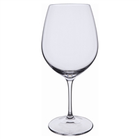 Pair Plain Burgundy Red Wine Glasses. Wine Master Range by Dartington Crystal