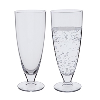 Pair Rachael Design Mineral Water Glasses by Dartington Crystal