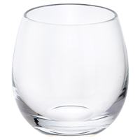Pair Connoisseur Rounded Whisky Tumbler Glasses by Dartington Crystal