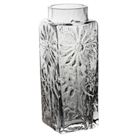 Small Smokey Coloured Flower Vase. Marguerite Collection by Dartington Crystal