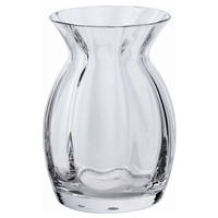 Crystal Pansy Vase from the Florabundance Range by Dartington Crystal
