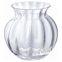 Crystal Anemone Vase from the Florabundance Range by Dartington Crystal