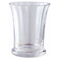 Crystal Sweet Pea Vase from the Florabundance Range by Dartington Crystal