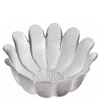 Medium Daisy Crystal Serving Bowl by Dartington Crystal