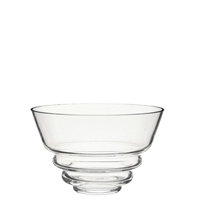 Small Wibble Glass Bowl 140mm Diameter by Dartington Crystal