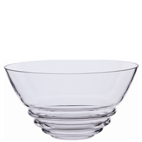 Large Wibble Glass Bowl 250mm Diameter by Dartington Crystal