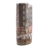 Ceramic Flower Vase L S Lowry Coming From The Mill by John Beswick