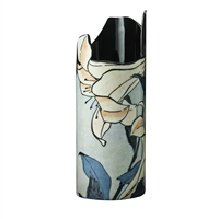 Porcelain Flower Vase of Hokusai's Lilies by John Beswick
