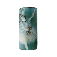 Porcelain Flower Vase of Degas Ballerina by John Beswick