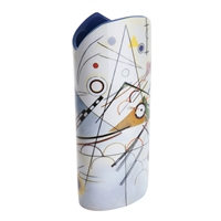 Porcelain Flower Vase Kandinsky Composition VIII by John Beswick