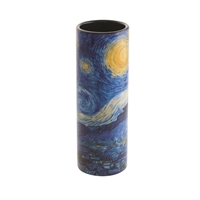 Porcelain Small Flower Vase Van Gogh's Starry Night by John Beswick