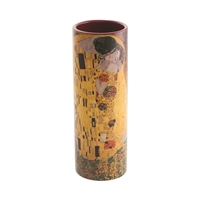 Porcelain Small Flower Vase Klimt The Kiss by John Beswick