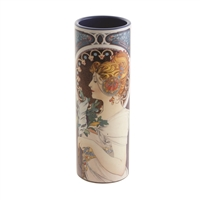 Porcelain Small Flower Vase Mucha Cowslip Feather by John Beswick