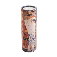 Porcelain Tea Light Candle Holder Klimt Three Ages of Woman by John Beswick