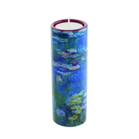 Porcelain Tea Light Candle Holder Monet Water Lilies by John Beswick