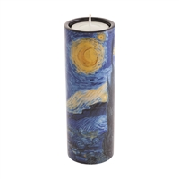 Porcelain Tea Light Candle Holder Van Gogh Starry Night by John Beswick