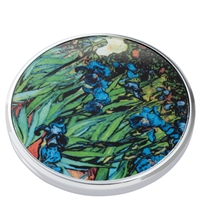 Pocket Handbag Compact Mirror Van Gogh Irises by John Beswick