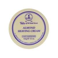 Almond Luxury Shaving Cream Bowl, 150 grams