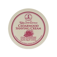 Cedarwood Luxury Shaving Cream Bowl, 150 grams