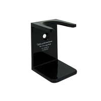 Black Shaving Brush Drip Stand by Taylor of Old Bond Street