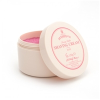 Rose Luxury Lather Shaving Cream Bowl, 150g by D R Harris.