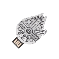 Star Wars Pewter Millennium Falcon USB Memory Stick. 16GB