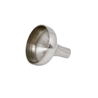 Spun English Pewter Hip Flask Funnel