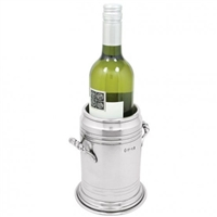 Vogue Style Pewter Wine Bottle Cooler by English Pewter Company