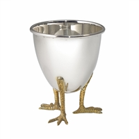 Sterling Silver Eggs on Legs Egg Cup by Francis Howard