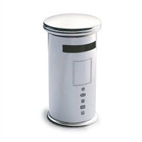 Sterling Silver Pillar Box Style Money Box