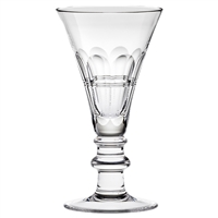 Coronet Large Crystal Red Wine Goblet by Royal Scot Crystal