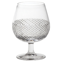 Crystal Tiara Pattern Single Brandy Glass by Royal Scot Crystal