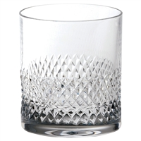 Crystal Tiara Pattern Large Whisky Tumbler by Royal Scot Crystal