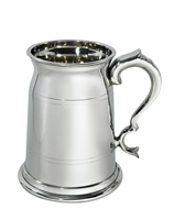 The Old London Two Pint English Pewter Tankard with Wooden Presentation Case