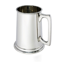 Fine English Pewter Two Pint Tankard by Wentworth of Sheffield