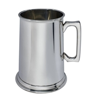 Fine English Pewter Four Pint Tankard by Wentworth of Sheffield