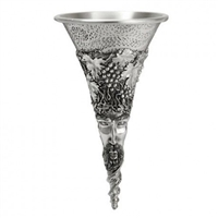Bacchus Pewter Wine Funnel and Strainer by Royal Selangor