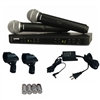 Shure BLX288/PG58 Dual Microphone Wireless System