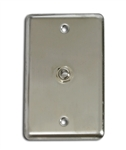 OSP Duplex Wall Plate With One - TRS 1/4 inch