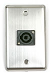 OSP Duplex Wall Plate with One -Speakon