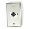 OSP Duplex Wall Plate With One -XLR
