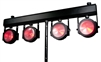 American DJ Dotz TPar LED Wash Lights 4 Par System