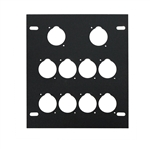 elite core stage floor box 10 d Holes plate