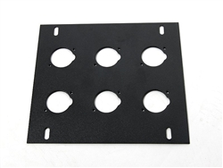 elite core stage floor box 6 d Holes plate