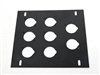 elite core stage floor box 8 d Holes plate