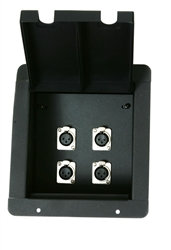 Elite Core Recessed Pro Audio Stage Floor Pocket Box
